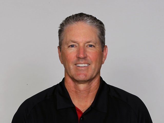 Dirk Koetter of the Atlanta Falcons on June 21, 2012