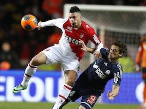 Half-Time Report: Germain puts Monaco in front