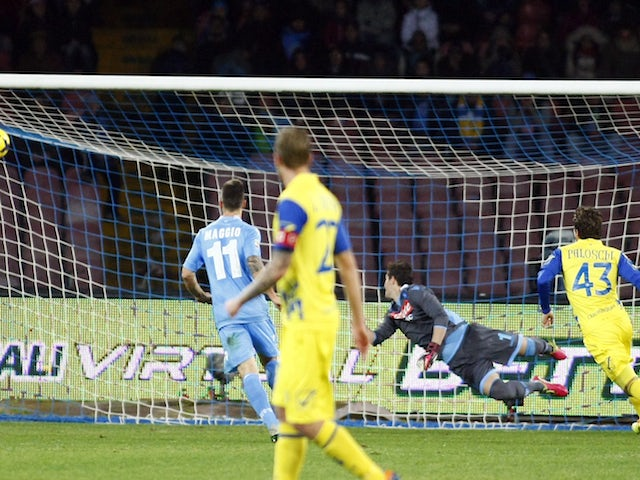 Result: Napoli snatch late draw