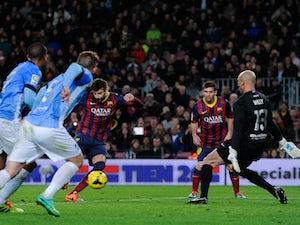 Half-Time Report: Barcelona leading Levante