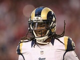 Janoris Jenkins #21 of the St. Louis Rams in action during the game against Arizona Cardinals on December 8, 2013