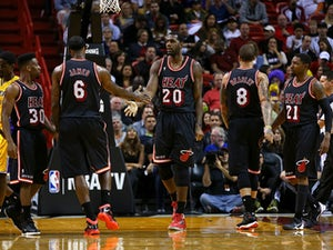 NBA roundup: Heat, Knicks record victories