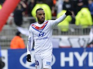 Lyon hit four past Lorient