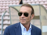 Massimo Cellino president of Cagliari Calcio looks on before the Serie A match between Cagliari Calcio and UC Sampdoria at Stadio Nereo Rocco on September 21, 2013