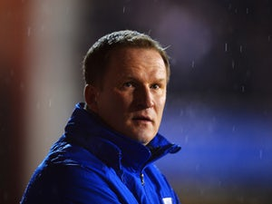 Simon Grayson manager of Preston North End looks on prior to the FA Cup with Budweiser Fourth round match between Nottingham Forest and Preston North End at City Ground on January 24, 2014
