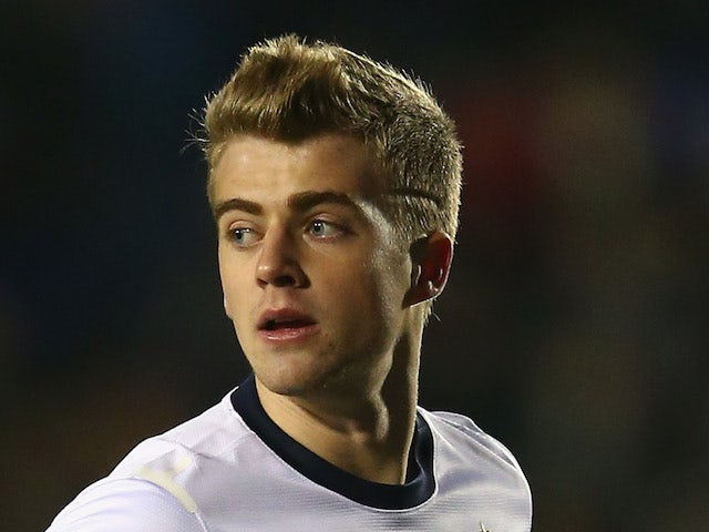 Patrick Bamford of England during the 2015 UEFA European U21 Championship Qualifying match between England U21 and San Marino U21 at Greenhous Meadow on November 19, 2013