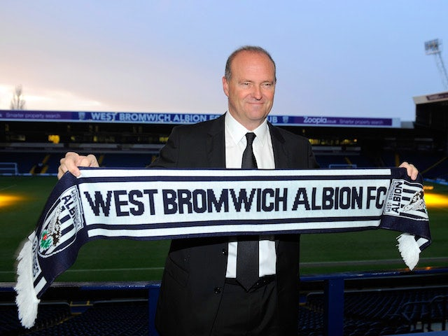 New West Bromwich Albion manager Pepe Mel faces the media before the press conference to announce his arrival, at The Hawthorns on January 16, 2014