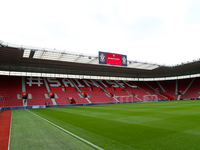 An interior general view of the St Mary's Stadium on August 24, 2013