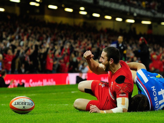 Result: Wales's title defence up and running