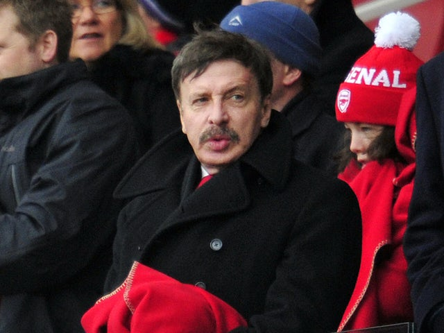 Alisher Usmanov open to selling Arsenal shares … but not to Stan Kroenke