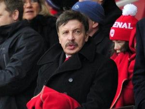 Report: Kroenke to jet in for Wenger talks