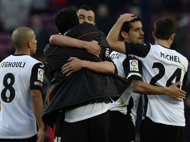 Result: Valencia through to last 16