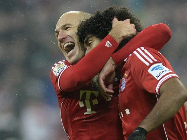Result: Bayern Munich trounce Hamburger SV