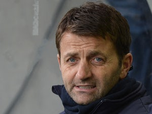 Tim Sherwood manager of Tottenham Hotspur looks on ahead of the Barclays Premier League match between Hull City and Tottenham Hotspur at KC Stadium on February 1, 2014