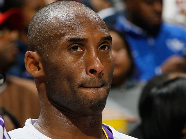 Bryant tears shoulder tendon