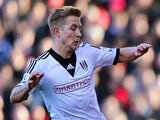 Lewis Holtby of Fulham during the Barclays Premier League match against Southampton on February 1, 2014