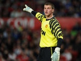 Sam Johnstone of Manchester United looks on during the FA Youth Cup Semi Final 2nd Leg between Manchester United and Chelsea at Old Trafford on April 20, 2011