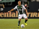 Portland Timbers' Mikael Silvestre in action against Montreal Impact on March 9, 2013