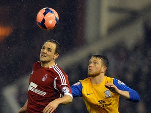 Forest lose Vaughan red card appeal