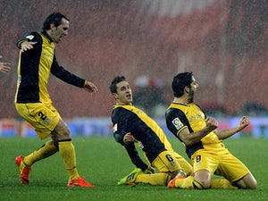 Live Commentary: Bilbao 1-2 (1-3) Atletico - as it happened