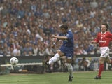 Roberto Di Matteo scores against Middlesbrough during the FA Cup final on May 17, 1997.