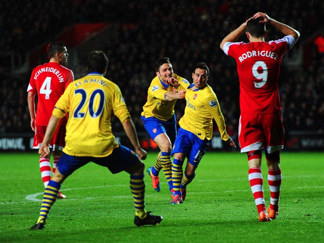 Result: Southampton, Arsenal share the spoils