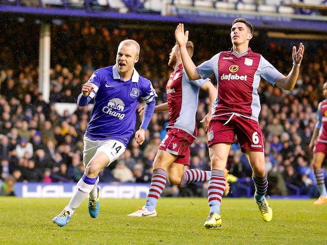 Result: Everton edge past Villa