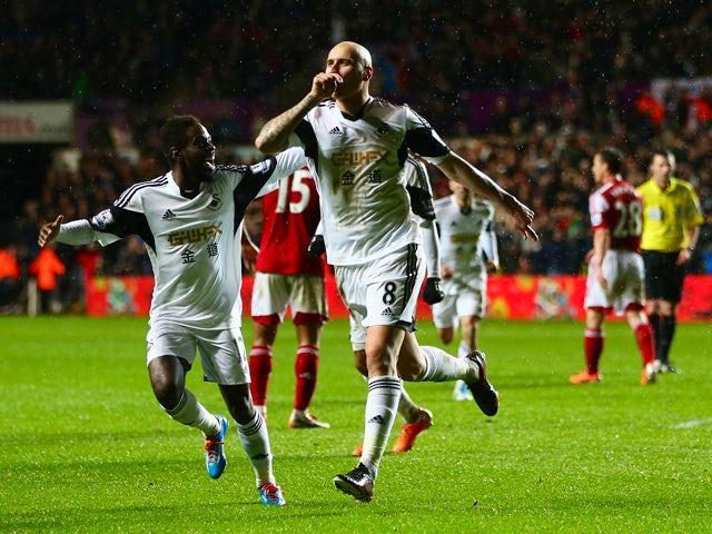 Result: Swansea pile misery on Fulham