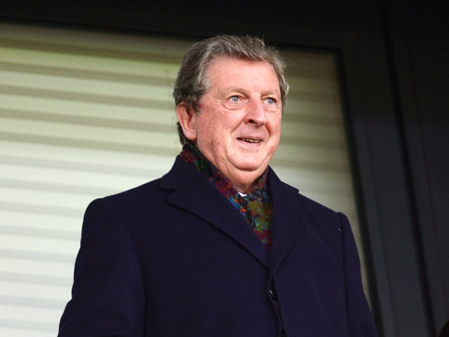 England manager Roy Hodgson takes his seat prior to kickoff during the Barclays Premier League match between West Bromwich Albion and Liverpool at The Hawthorns on February 2, 2014