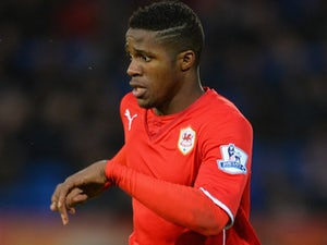 Zaha hopes to be Cardiff favourite
