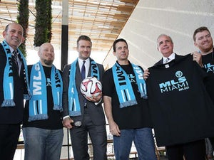 Beckham confirms Miami MLS franchise