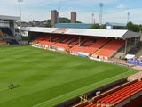 General view of Tannadice Park Dundee taken prior to the SPL match from between Dundee United and Dundee, Tannadice Park Dundee on August 19, 2012