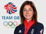 Eve Muirhead of Team GB curling poses at kitting out in January 2014.