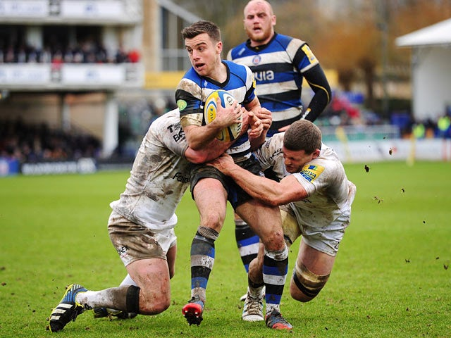 Result: Bath narrowly beat Exeter
