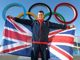 Short track speed skater Jon Eley of Great Britain poses after being named Team GB flag bearer for the Opening Ceremony of the Sochi 2014 on February 5, 2014