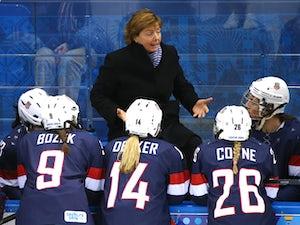 Result: USA cruise into ice hockey final