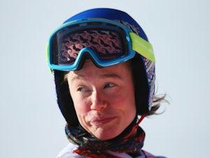 Women's downhill ski training halted