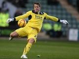 Luke McCormick of Plymouth Argyle in action during the Sky Bet League Two match between Plymouth Argyle and Northampton Town at Home Park on November 2, 2013