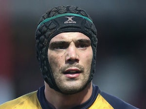 Mariano Galarza of Worcester looks on during the Aviva Premiership match between Gloucester and Worcester Warriors at Kingsholm Stadium on December 22, 2013