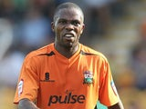 Barnet's Mark Marshall in action against Northampton during their League 2 match on October 1, 2011