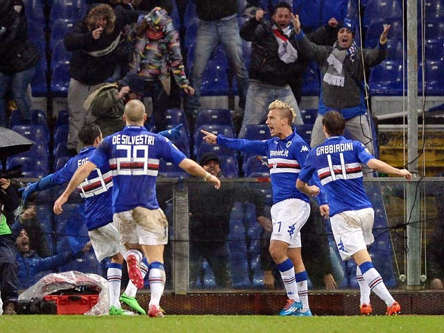 Result: Sampdoria edge past Genoa