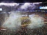 MetLife Stadium is shown after the Seattle Seahawks won Super Bowl XLVIII at MetLife Stadium on February 2, 2014
