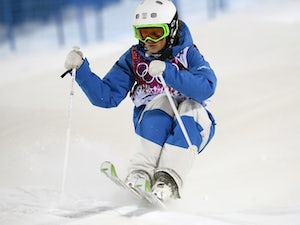 Fifteen-year-old reaches moguls final