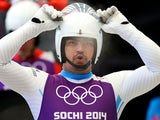 Independent Olympic Participant Shiva Keshavan gets prepared during a men's luge training session ahead of the Sochi 2014 Winter Olympics on February 5, 2014
