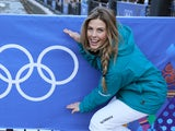 Torah Bright of the Australian Snowboarding team poses in the Rosa Khutor Mountain Village ahead of the Sochi 2014 Winter Olympics on February 6, 2014