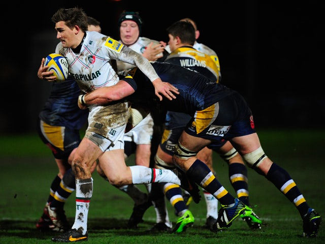 Result: Leicester narrowly beat Worcester