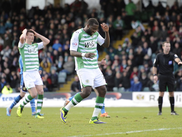 Result: Late drama as Yeovil hold Wigan