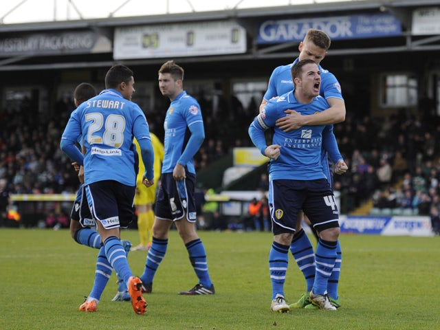 Result: Leeds muster comeback to beat Yeovil