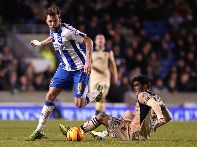 Result: Ulloa strike gives Brighton win