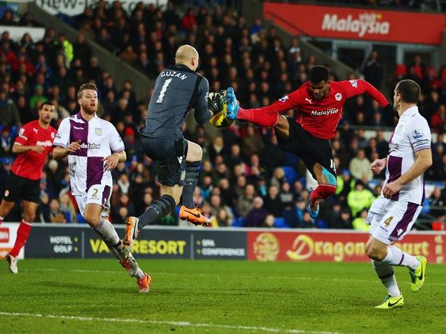 Result: Cardiff, Aston Villa ends goalless